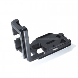 Quick Release L-Plate Bracket Hand Grip for Canon 5D Mark II