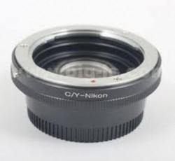 C/Y-NIKON Adapter Mount Contax Yashica C/Y Lens to Nikon SLR / DSLR with Optial Glass