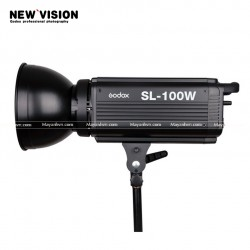 Godox SL-100W 2400LUX Studio LED Continuous Video Light Bowens Mount w/ Remote